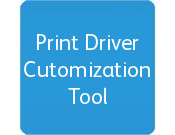 Print Driver Customization Tool